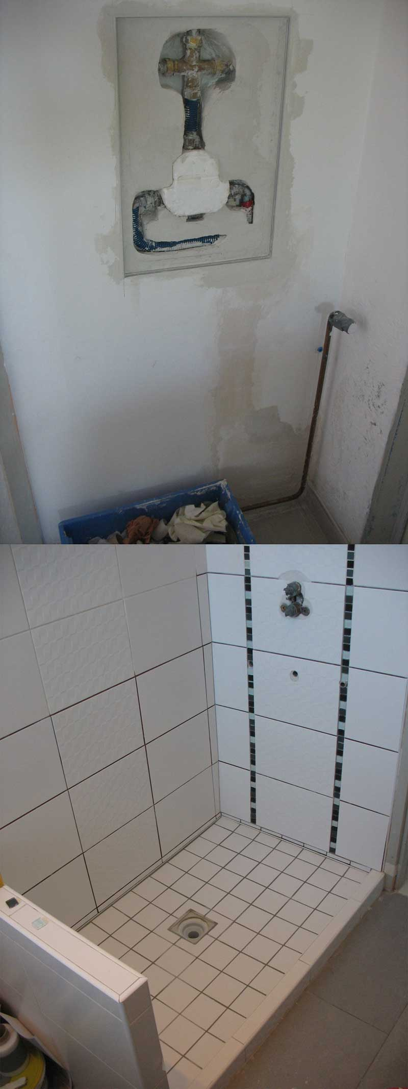 fuite installation douche encastree | Forum Plomberie - Sanitaires ...